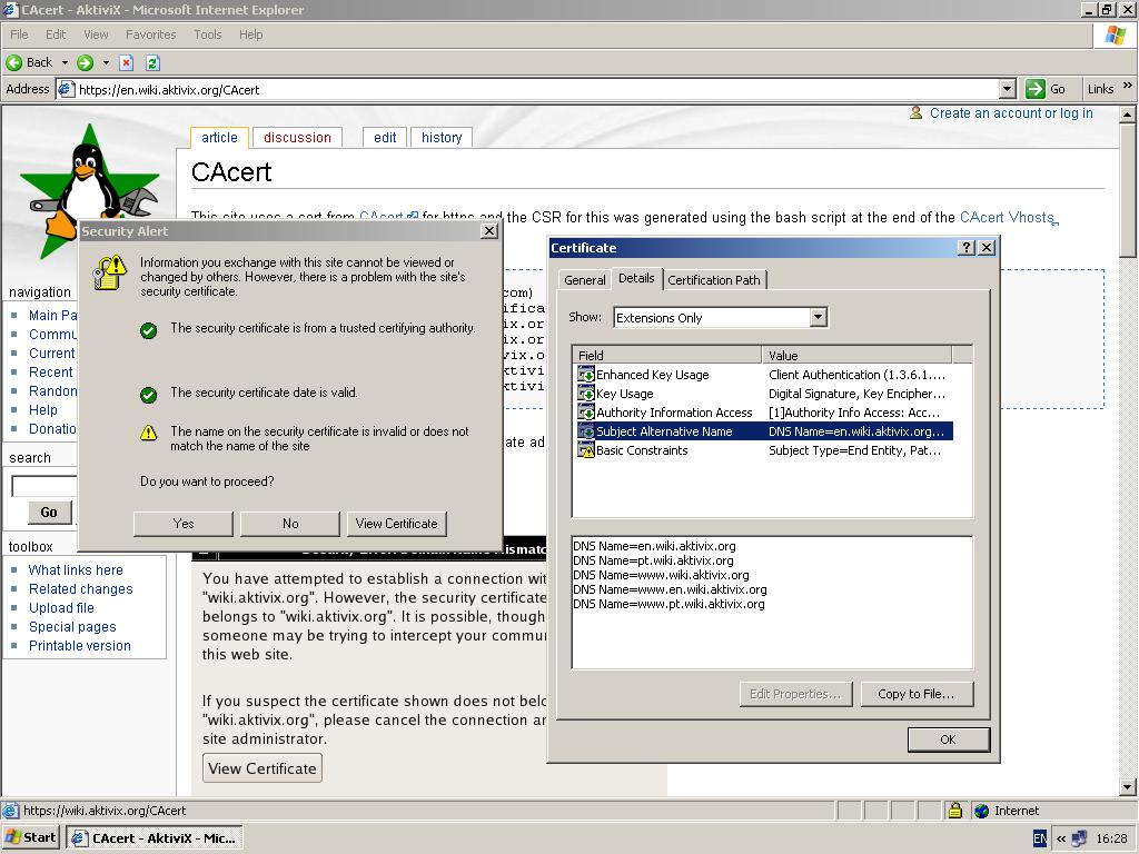 Cacert aktivix aktivix ssl ie screenshotg xflitez Choice Image